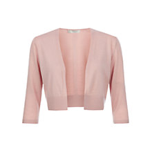 Buy Hobbs Elize Bolero, Spring Blush Online at johnlewis.com