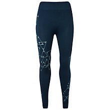 Buy Manuka Yoga Seamless Asana Leggings, Blue Online at johnlewis.com
