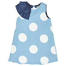 Buy Angel & Rocket Girls' Spot Chambray Dress, Blue Online at johnlewis.com
