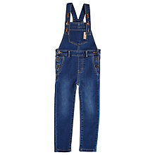 Buy Angel & Rocket Girls' Denim Dungarees, Blue Online at johnlewis.com
