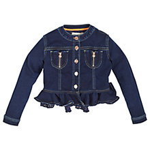 Buy Angel & Rocket Girls' Delia Denim Jacket, Dark Blue Online at johnlewis.com