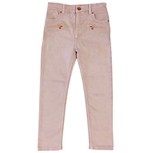 Buy Angel & Rocket Girls' Stretch Jeans, Pink Online at johnlewis.com