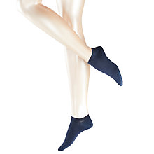 Buy Falke Active Breeze Trainer Socks, Navy Melange Online at johnlewis.com
