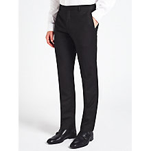 Buy Calvin Klein Tate Micro Two Tone Weave Tailored Suit Trousers, Black/Grey Online at johnlewis.com