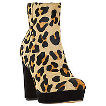 Buy Dune Ottawa Block Heel Platform Ankle Boots Online at johnlewis.com