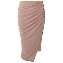 Buy Miss Selfridge Rouched Pencil Skirt Online at johnlewis.com