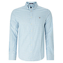 Buy Gant Comfort Oxford Check Shirt Online at johnlewis.com