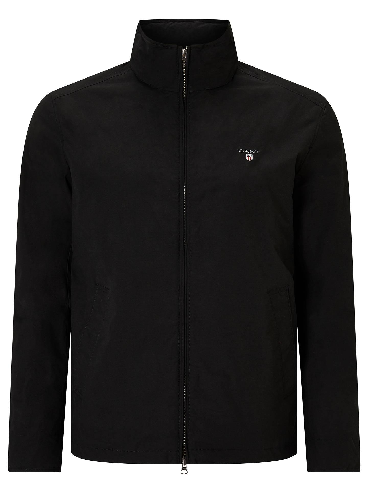 ee8a06bf0b Buy Gant Mid-Length Jacket, Black, S Online at johnlewis.com ...