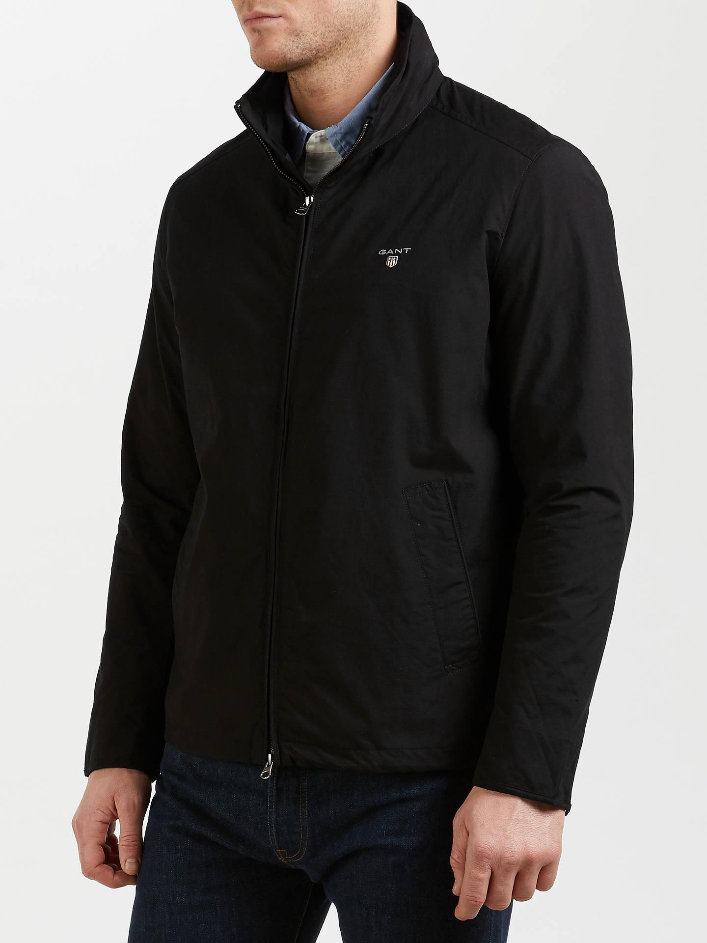 97689c5e00 ... Buy Gant Mid-Length Jacket, Black, S Online at johnlewis.com