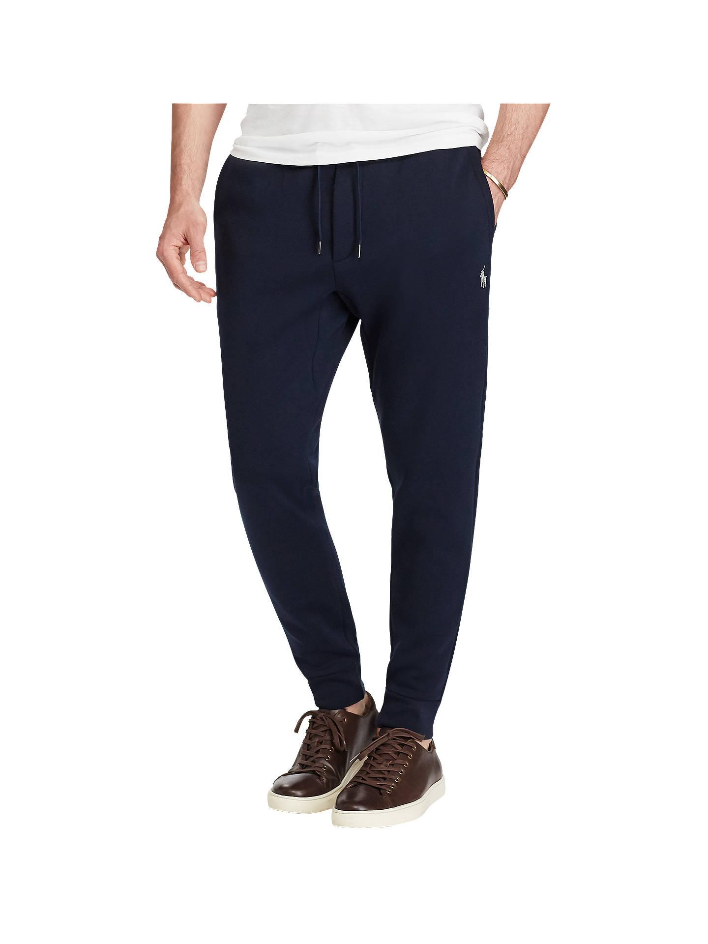 53ab71eeb1524 Buy Polo Ralph Lauren Double-Knit Jogging Bottoms, Aviator Navy, S Online  at ...