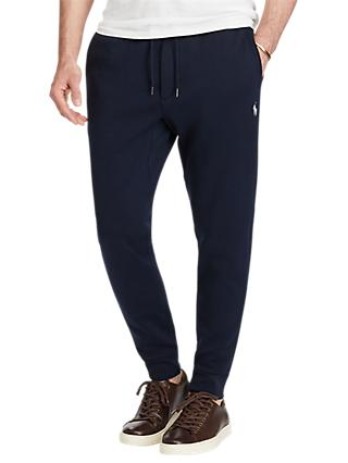 Polo Ralph Lauren Double-Knit Jogging Bottoms, Aviator Navy