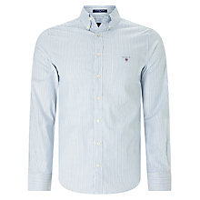 Buy Gant Comfort Oxford Stripe Shirt, Kelly Green Online at johnlewis.com
