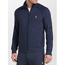 Buy Polo Ralph Lauren Zip Jacket, Basic Navy Heather Online at johnlewis.com