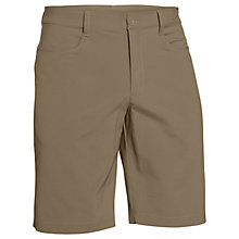 Buy Under Armour Leaderboard Golf Shorts, Brown Online at johnlewis.com