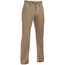 Buy Under Armour Tech Golf Trousers, Brown Online at johnlewis.com