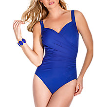 Buy Miraclesuit Sanibel Swimsuit, Blue Online at johnlewis.com