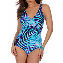 Buy Miraclesuit Palm Reader Oceanus Swimsuit, Blue Online at johnlewis.com