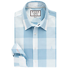 Buy Thomas Pink Richardson Check Classic Fit Shirt, Pale Blue/White Online at johnlewis.com