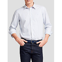 Buy Thomas Pink Nelson Stripe Classic Fit Shirt, White/Blue Online at johnlewis.com