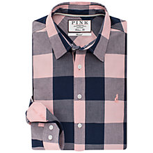 Buy Thomas Pink Richardson Check Classic Fit Shirt, Navy/Pink Online at johnlewis.com