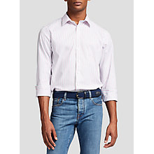 Buy Thomas Pink Nelson Stripe Classic Fit Shirt, White/Pink Online at johnlewis.com