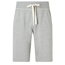 Buy Polo Ralph Lauren Loopback Jersey Lounge Shorts, Grey Online at johnlewis.com