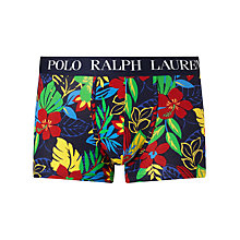 Buy Polo Ralph Lauren Hibiscus Print Trunks, Navy Online at johnlewis.com
