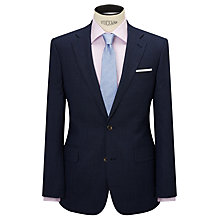 Buy Chester by Chester Barrie Wool Glen Check Tailored Suit Jacket, Indigo Online at johnlewis.com