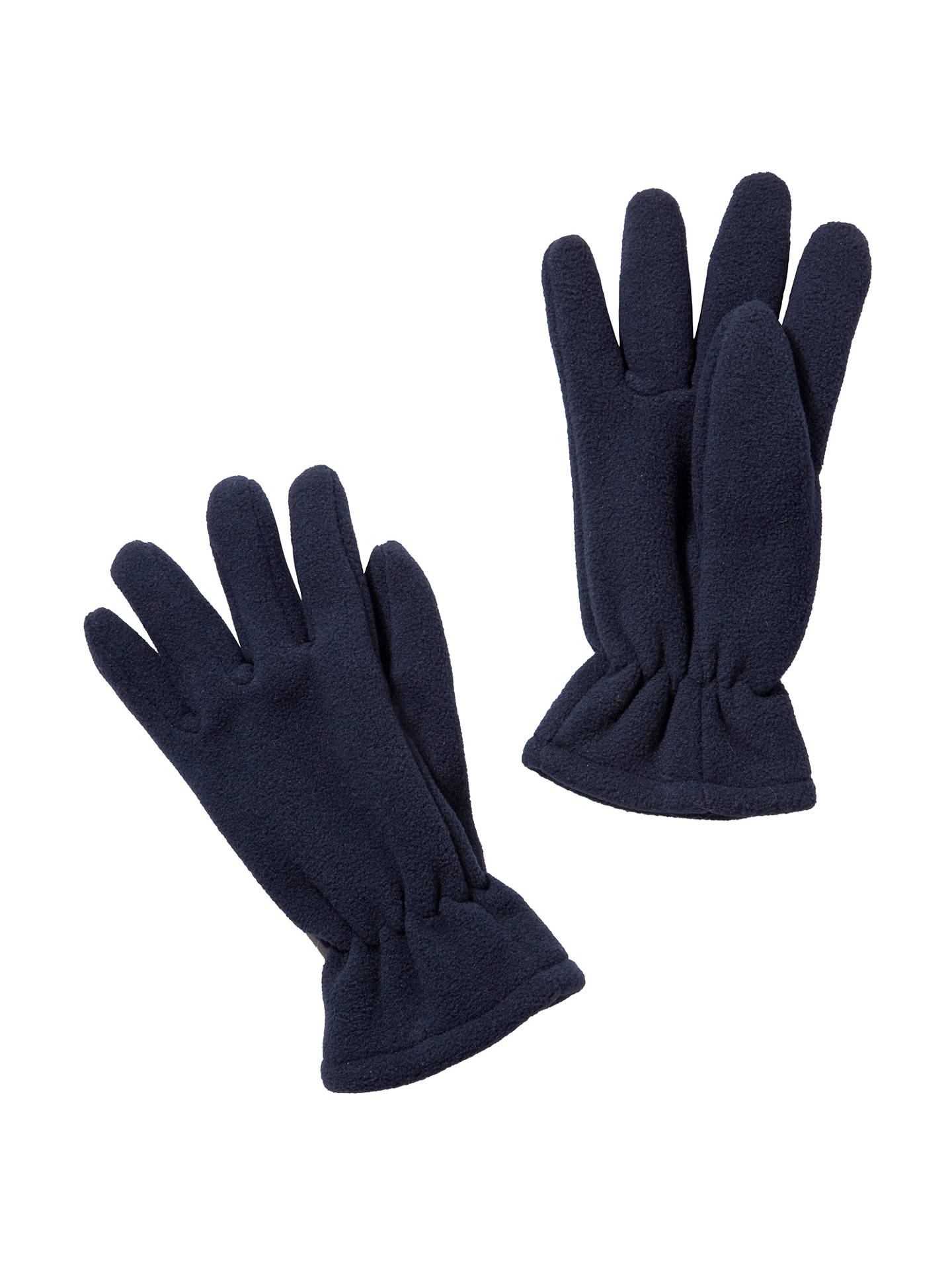 Buy School Fleece Gloves, Navy, 5-7 years Online at johnlewis.com