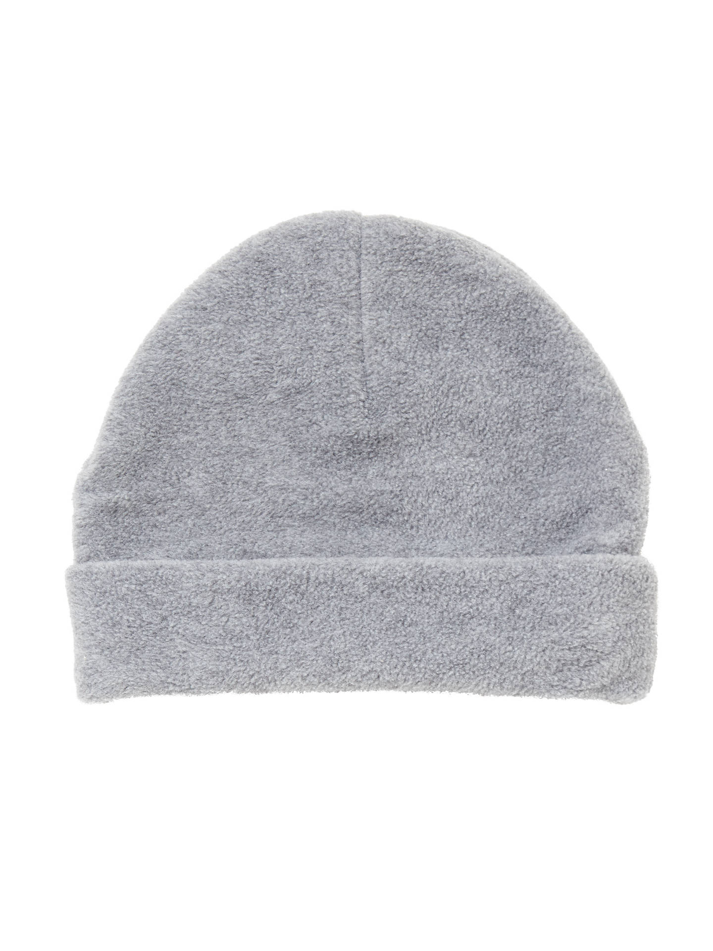 Buy School Fleece Hat, Grey, Small Online at johnlewis.com