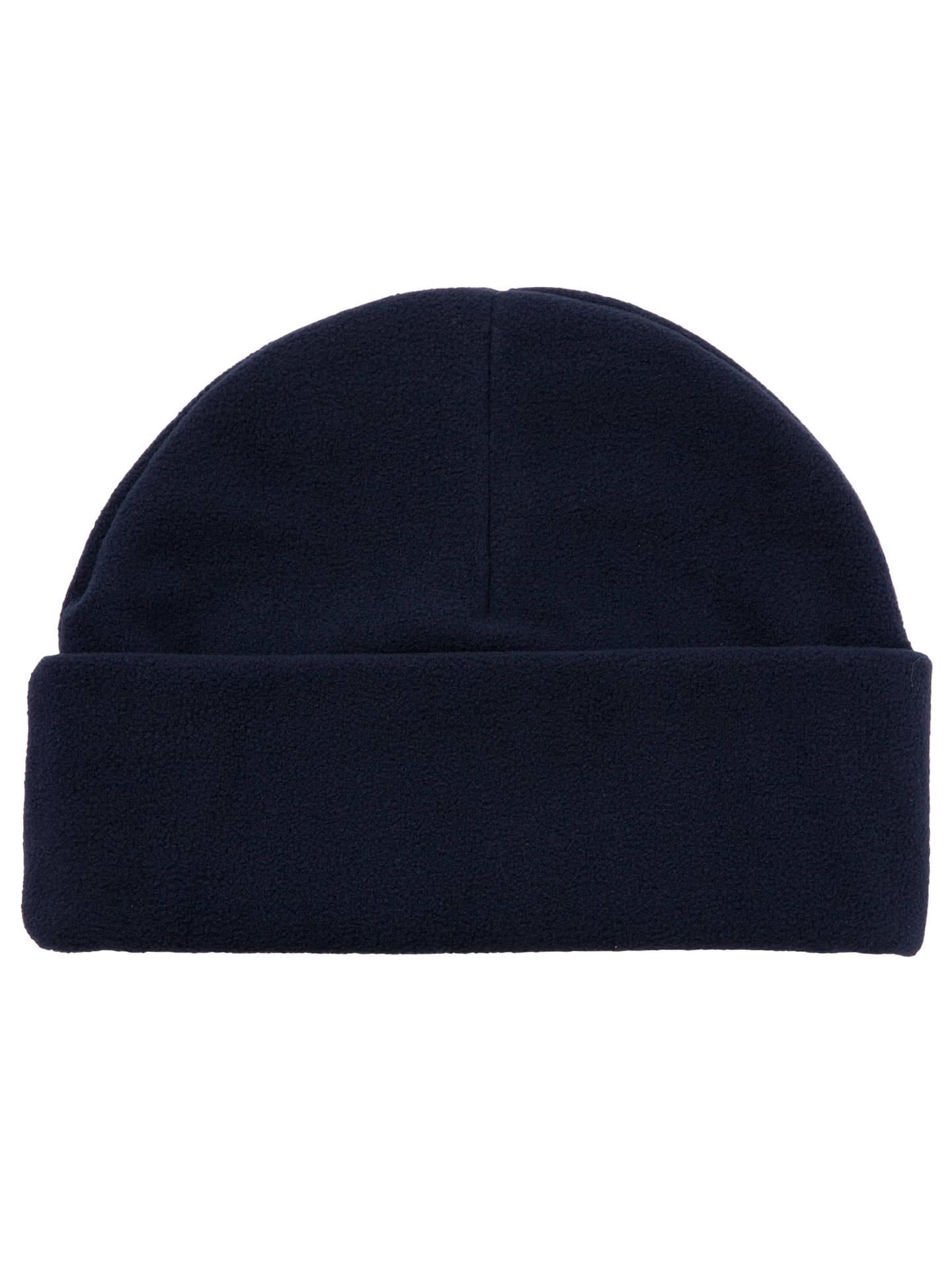 Buy School Fleece Hat, Navy, Small Online at johnlewis.com