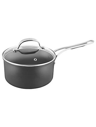 Jamie Oliver by Tefal Hard Anodised Aluminium Non-Stick Saucepan