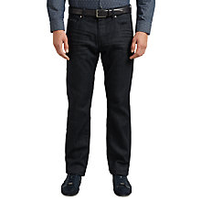 Buy BOSS Green C-Maine Straight Jeans, Dark Blue Online at johnlewis.com