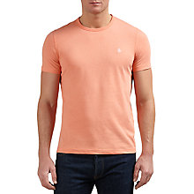 Buy Original Penguin Peached Jersey Pin Point T-Shirt, Coral Almond Heather Online at johnlewis.com