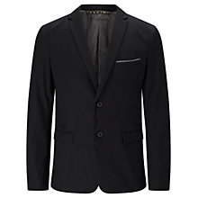 Buy BOSS Orange Benestretch6 Slim Fit Blazer, Black Online at johnlewis.com