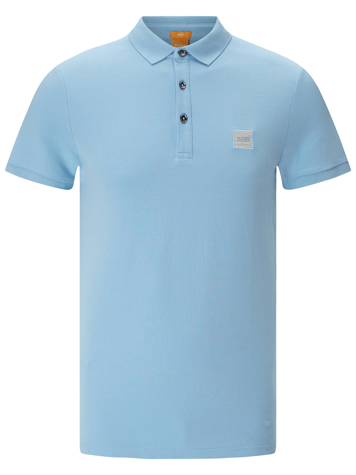 58eee628 BOSS Orange Pavlik Slim Fit Polo Shirt at John Lewis & Partners