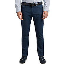 Buy BOSS Green C-Delaware Slim Fit Jeans, Navy Online at johnlewis.com