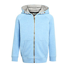 Buy John Lewis Boys' Core Hoodie, Light Blue Online at johnlewis.com