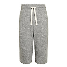 Buy John Lewis Childrens' Sweat Shorts, Grey Online at johnlewis.com