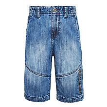 Buy John Lewis Boys' Denim Shorts, Blue Online at johnlewis.com