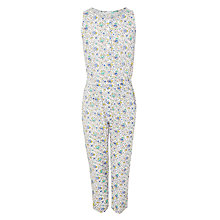 Buy John Lewis Girls' Ditsy Crepe Jumpsuit, Multi Online at johnlewis.com