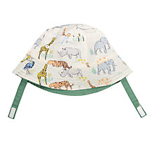 Buy John Lewis Baby Jungle Hat, Multi Online at johnlewis.com