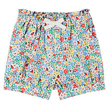 Buy John Lewis Baby Floral Shorts, Multi Online at johnlewis.com