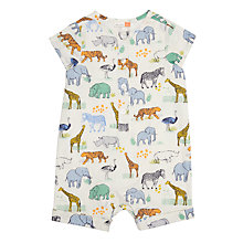 Buy John Lewis Baby Cuba Romper, Multi Online at johnlewis.com