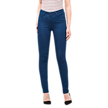 Buy Lee Scarlett High Waist Skinny Jeans, Rinse Online at johnlewis.com