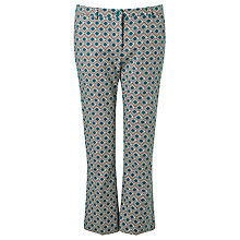 Buy Weekend MaxMara Vadet Printed Trousers Online at johnlewis.com