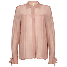 Buy Ghost Tristan Blouse, Fudge Online at johnlewis.com