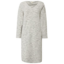 Buy White Stuff Easy Marl Jersey Dress, Grey Marl Online at johnlewis.com