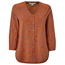 Buy White Stuff Rocking Horse Shirt, Marmalade Orange Online at johnlewis.com