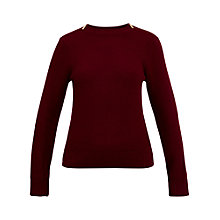 Buy Ted Baker Rosiea Textured Stitch Jumper Online at johnlewis.com